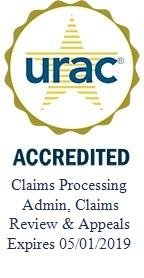URAC Claims Processing Administration Seal