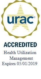 URAC Health Utilization Mangement Seal